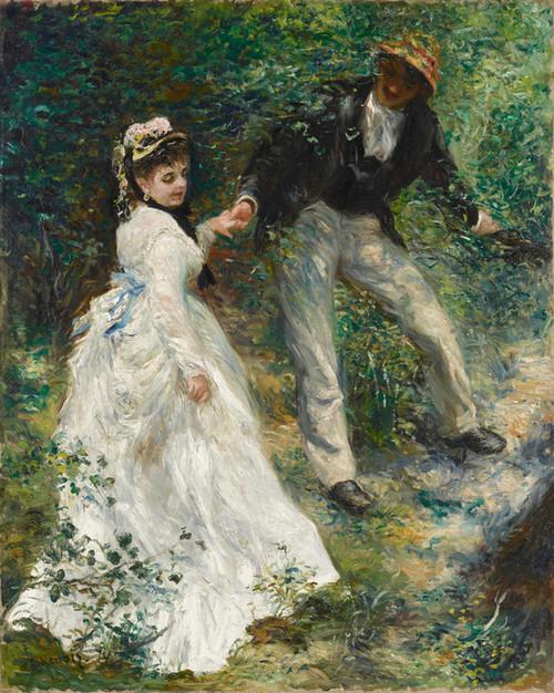 Art Prints of La Promenade by Pierre-Auguste Renoir