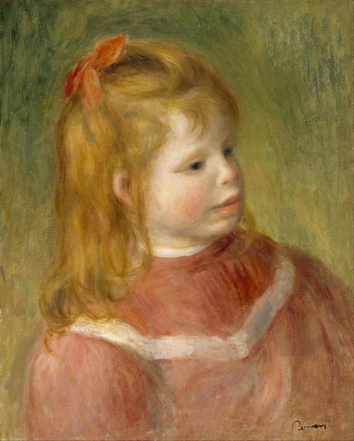 Art Prints of Portrait of Jean by Pierre-Auguste Renoir