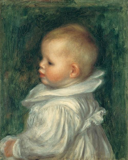 Art Prints of Portrait of Claude Renoir by Pierre-Auguste Renoir