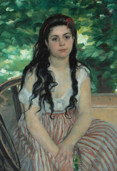 Art Prints of The Bohemian or In Summer by Pierre-Auguste Renoir