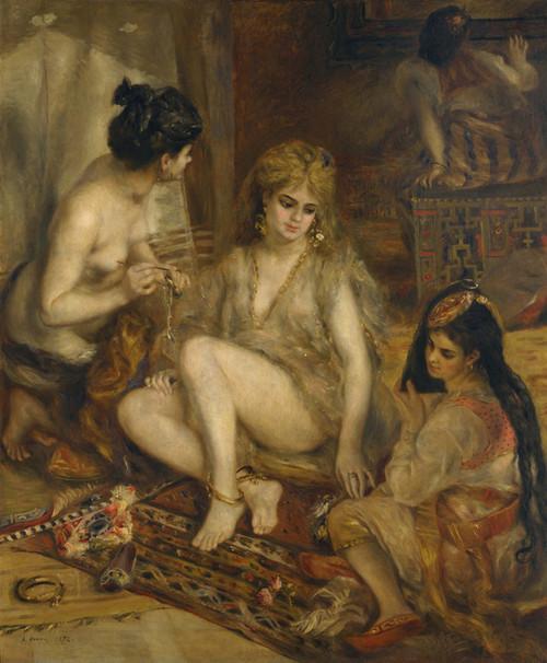 Art Prints of The Harem by Pierre-Auguste Renoir