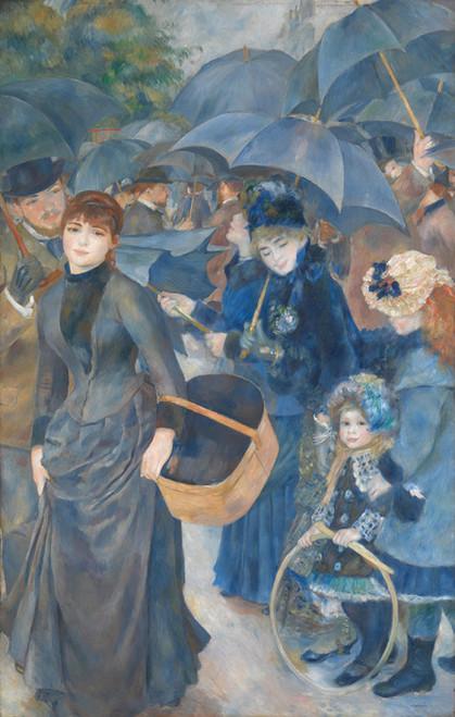 Art Prints of The Umbrellas by Pierre-Auguste Renoir