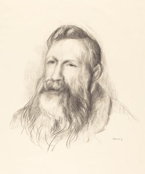 Art Prints of Auguste Rodin by Pierre-Auguste Renoir