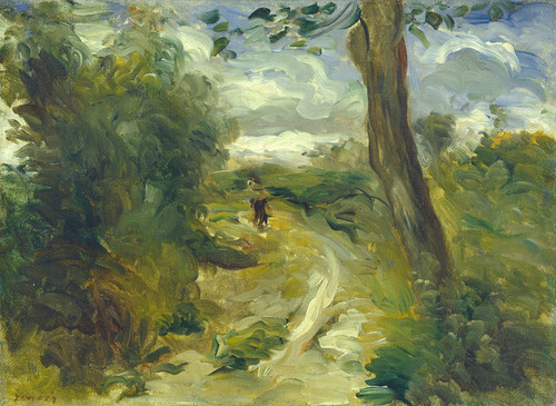 Art Prints of Landscape between Storms by Pierre-Auguste Renoir