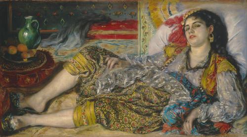 Art Prints of Odalisque by Pierre-Auguste Renoir