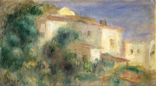 Art Prints of Maison de la Poste by Pierre-Auguste Renoir