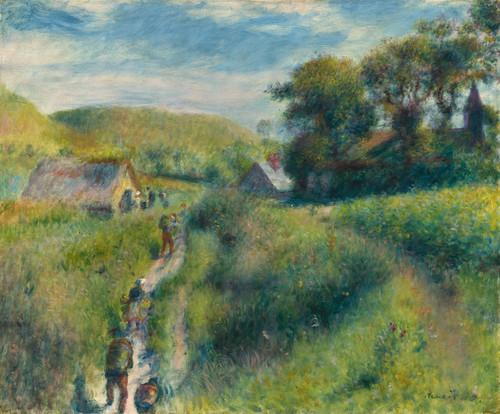 Art Prints of The Vintagers, 1879, by Pierre-Auguste Renoir