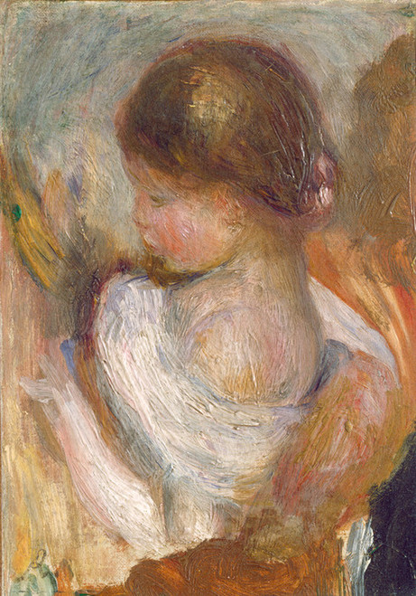 Art Prints of Young Girl Reading by Pierre-Auguste Renoir