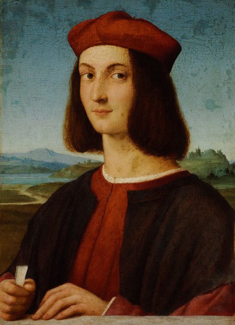 Art Prints of Portrait of Pietro Bembo by Raphael Santi