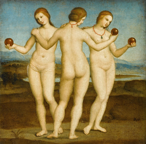 Art Prints of The Three Graces by Raphael Santi