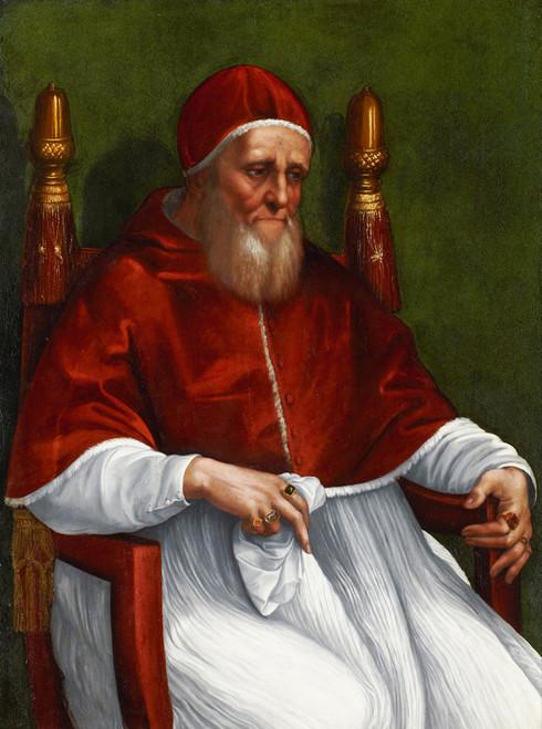 Art Prints of Portrait of Pope Julius II by Raphael Santi