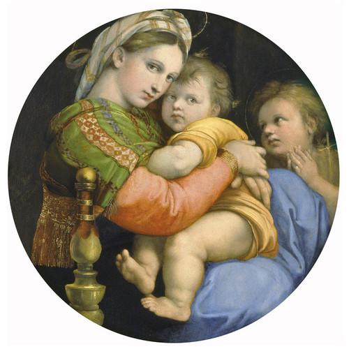 Art Prints of Tondo Madonna D'Ella Seggiola by Raphael Santi