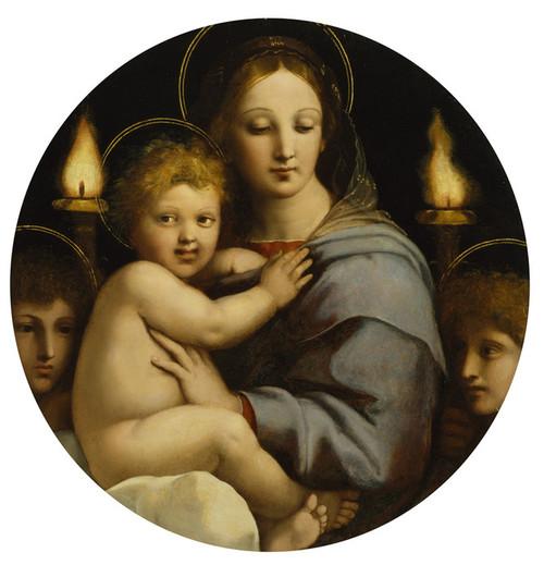 Art Prints of Madonna of the Candelabra by Raphael Santi