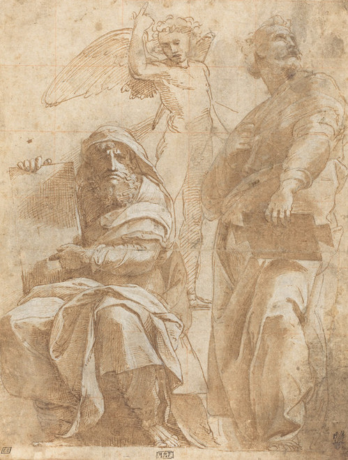 Art Prints of The Prophets Hosea and Jonah by Raphael Santi