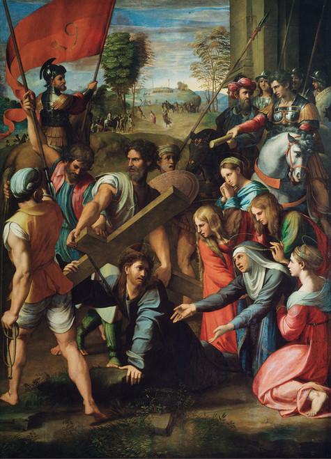 Art Prints of Christ Carrying the Cross by Raphael Santi