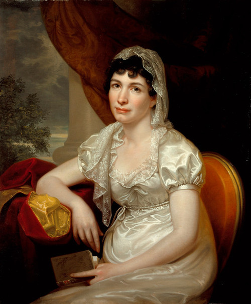 Art Prints of Portrait of Jane Griffith Koch by Rembrandt Peale