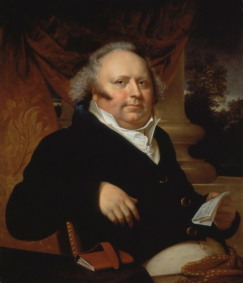 Art Prints of Portrait of Jacob Gerard Koch by Rembrandt Peale