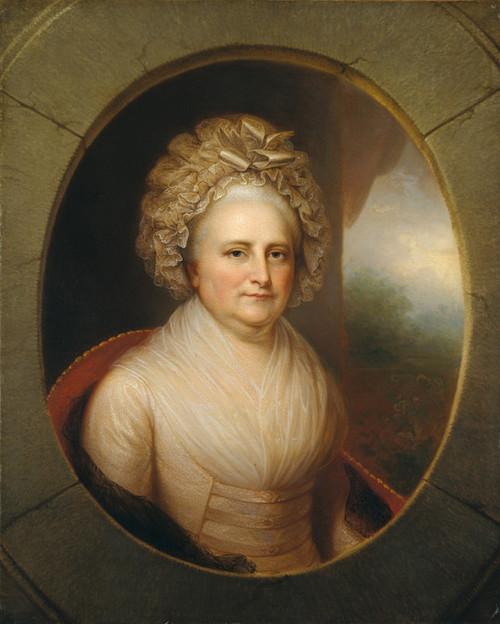 Art Prints of Martha Washington by Rembrandt Peale