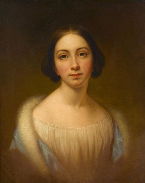 Art Prints of Portrait of Rebecca Miller Welsh by Rembrandt Peale