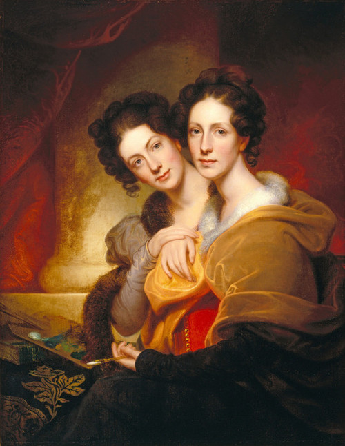 Art Prints of The Sisters, Eleanor and Rosalba Peale by Rembrandt Peale