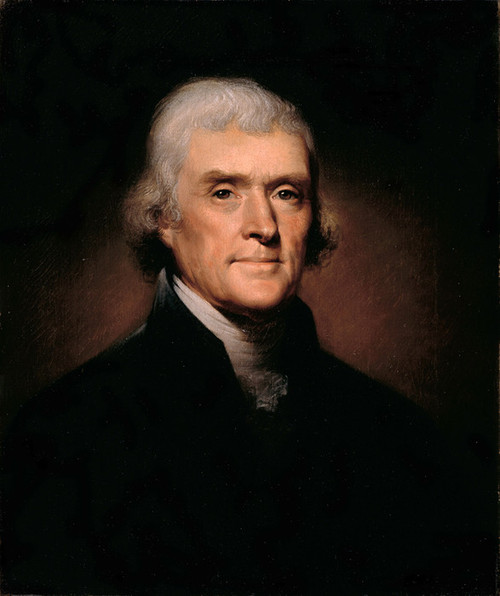 Art Prints of Thomas Jefferson by Rembrandt Peale