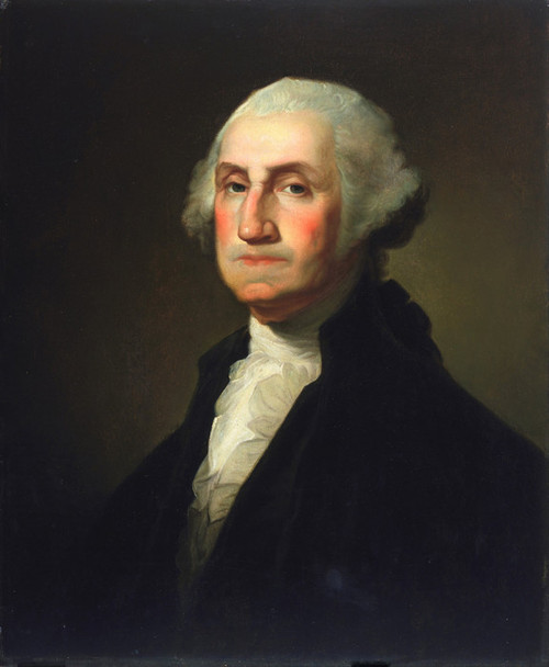 Art Prints of George Washington, 1854 by Rembrandt Peale