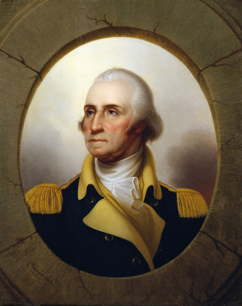 Art Prints of George Washington, 1853 by Rembrandt Peale
