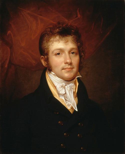 Art Prints of Portrait of Edward Shippen, Burd of Philadelphia by Rembrandt Peale