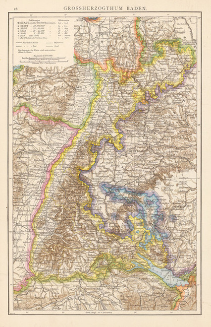 Art Prints of Baden, 1881 (1494021) by Richard Andree