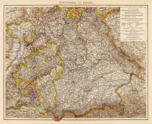 Art Prints of Wuertemberg, Bavaria, 1881 (1494020) by Richard Andree