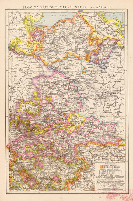Art Prints of Saxony Mecklenburg, 1881 (1494024) by Richard Andree