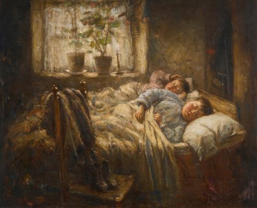 Art Prints of Sleepy Loons by Robert Gemmell Hutchison