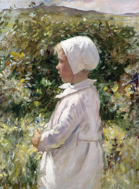 Art Prints of The Posy by Robert Gemmell Hutchison