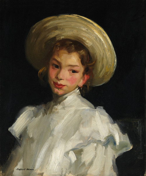 Art Prints of Dutch Girl in White by Robert Henri