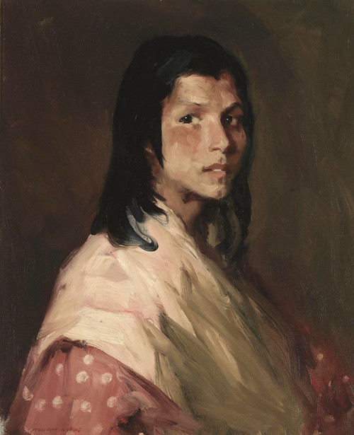 Art Prints of Gypsy Girl by Robert Henri