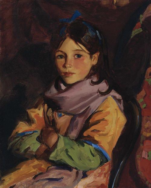 Art Prints of Mary Agnes by Robert Henri