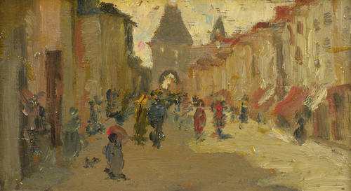 Art Prints of Moret Street by Robert Henri