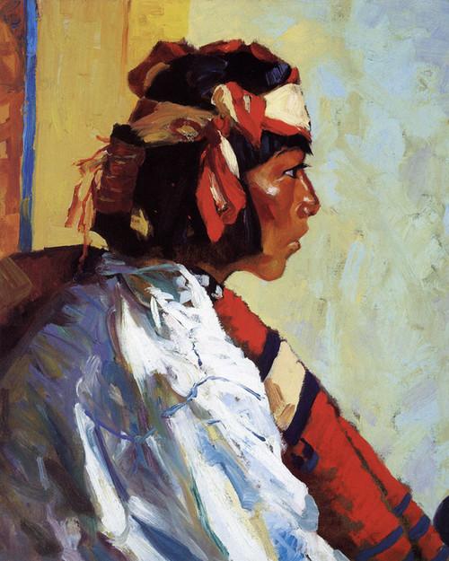 Art Prints of Miguel of Tesuque 1917 by Robert Henri