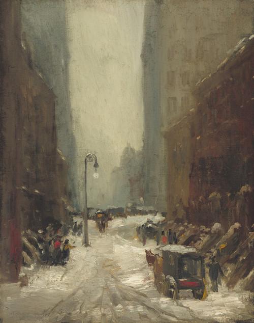Art Prints of Snow in New York by Robert Henri