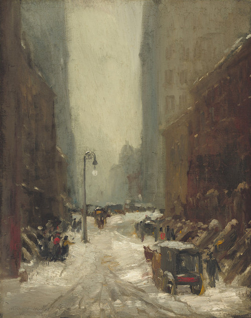 Art Prints of Snow in New York by Robert Henri