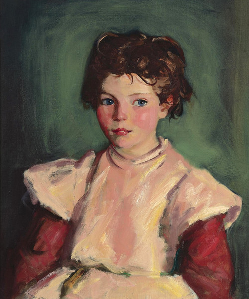 Art Prints of The Pink Smock by Robert Henri