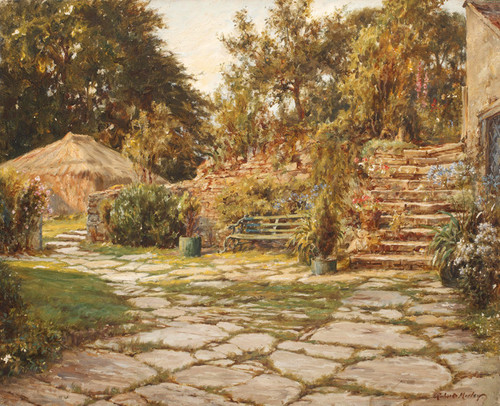 Art Prints of The Dial House, Frensham by Robert Morley