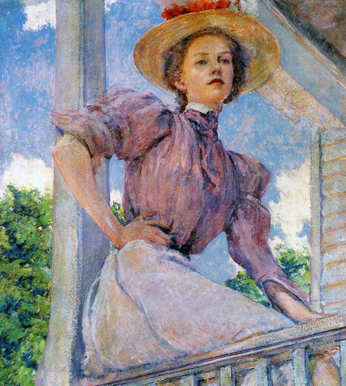 Art Prints of A Summer Girl by Robert Reid