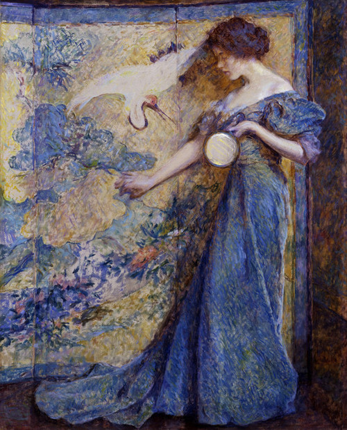 Art Prints of The Mirror by Robert Reid
