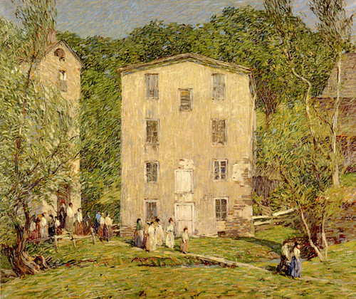 Art Prints of Five O'Clock, June by Robert Spencer
