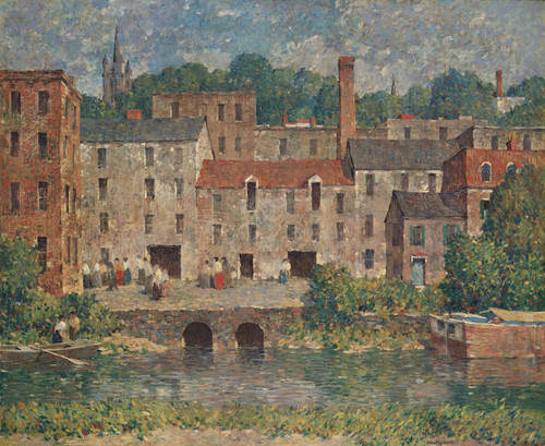 Art Prints of Mill Valley by Robert Spencer