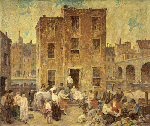 Art Prints of Mountebanks and Thieves by Robert Spencer