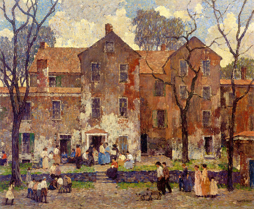 Art Prints of The Barracks by Robert Spencer