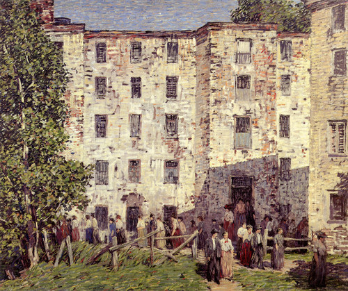 Art Prints of The Closing Hour by Robert Spencer