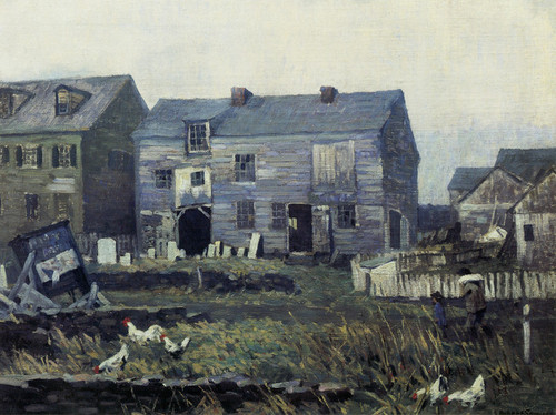 Art Prints of The Marble Shop by Robert Spencer